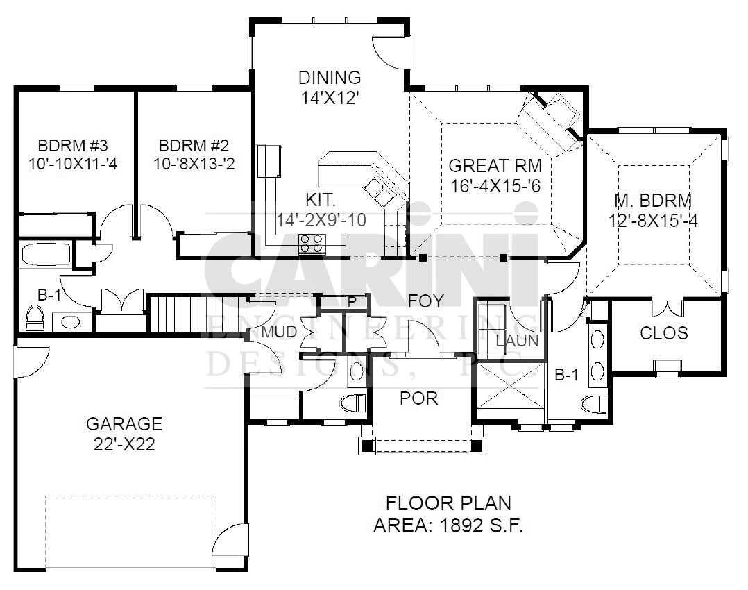 Universal design house plans --Call Carini Designs 585-223-6420 today!