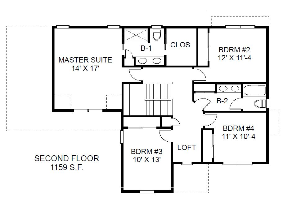 Cost Efficient Charm In Family House Plan Order